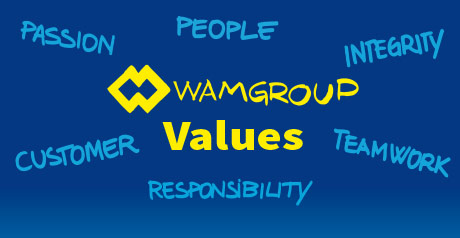"""bb39c6defbe16c WAMGROUP """"Values"""" Video"""