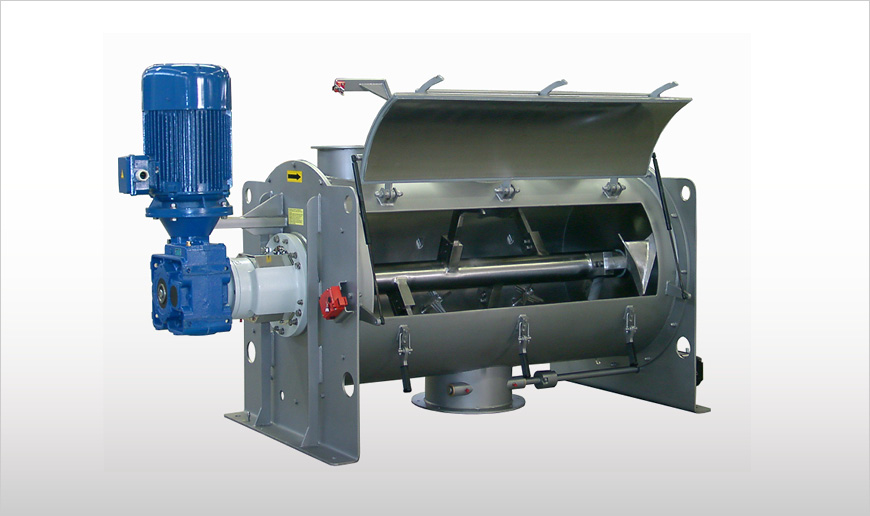 Batch-Type Single Shaft Mixers
